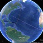 Following the November 3 solar eclipse in Google Earth
