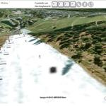 Snowboarding in Google Earth