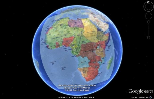 google earth southampton