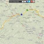 Mapping the 2014 Tour de France