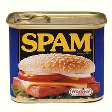 All hail the mighty Spam