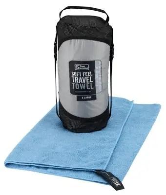Boring towel. Ace bag.