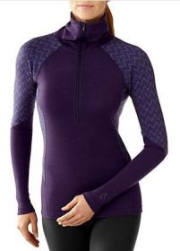 Smartwool Mid250 Funnel Zip - Thicker, high-neck, long sleeves