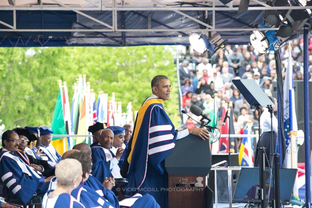 Howard University Commencement Speaker President Barack Obama