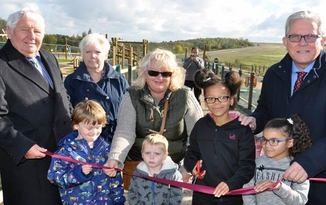New £200k play area officially opened in Gedling Country Park