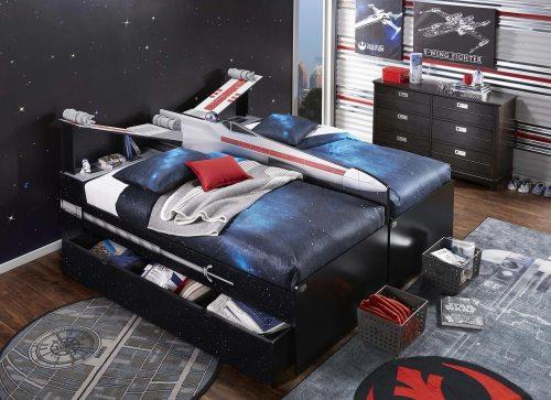 Medium Of Star Wars Bed