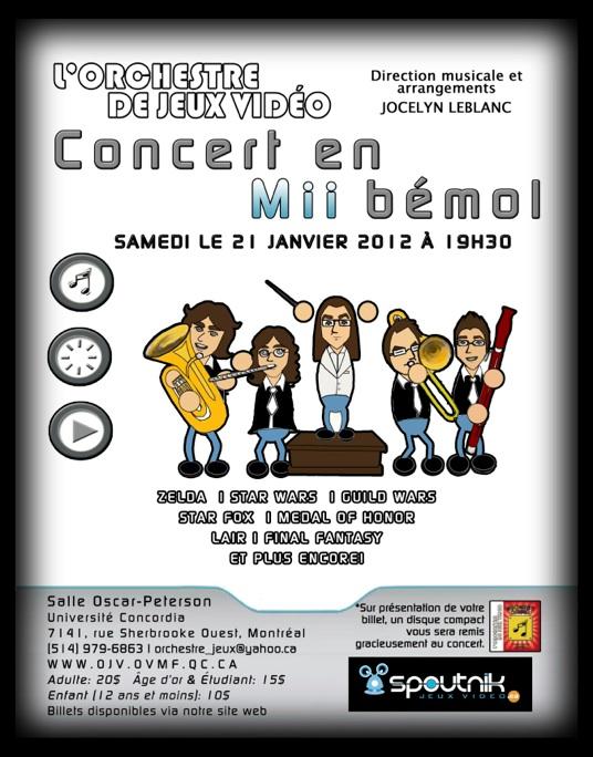 L'OJV à Montréal le 21 Janvier – Concert Mii Bémol
