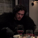 Watch This: Jon Snow Proves To Be A Pretty Terrible Dinner Guest In This 'Late Night with Seth Meyers' Sketch