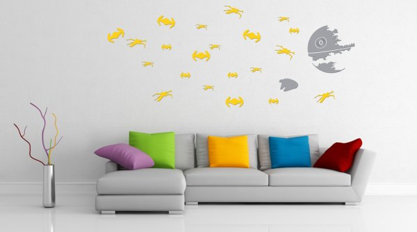 Star Wars Death Star Wall Decals