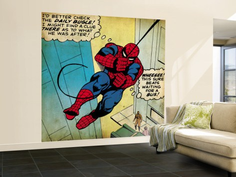 Classic Marvel Wall Mural 4 Part 92