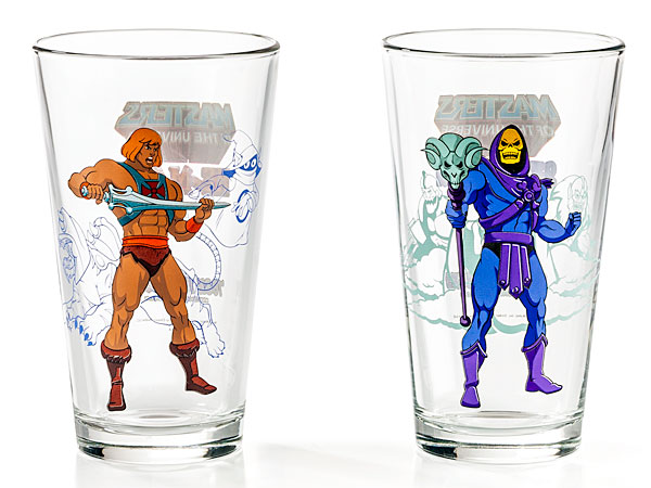 He-Man and Skeletor Pint Glasses