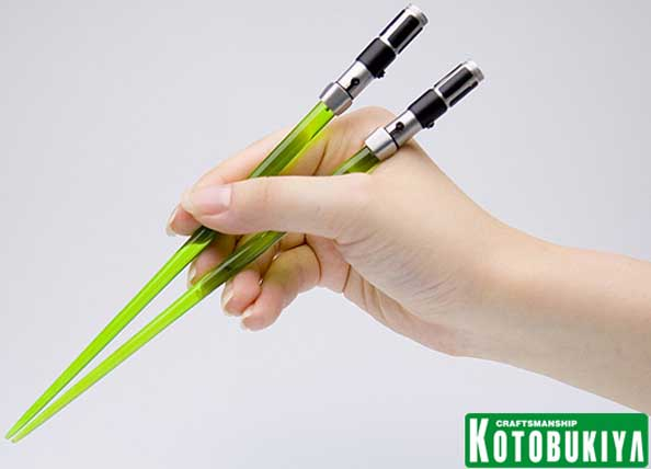 Yoda STAR WARS Lightsaber Chopsticks