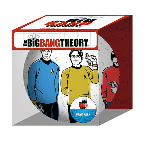 Big Bang Theory Star Trek Christmas Ball - Geek Decor