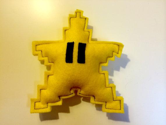 Super Mario Christmas Tree Star - Geek Decor