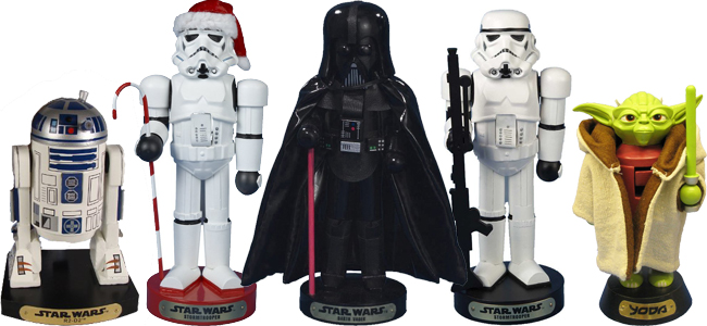 6 Awesome STAR WARS Nutcrackers