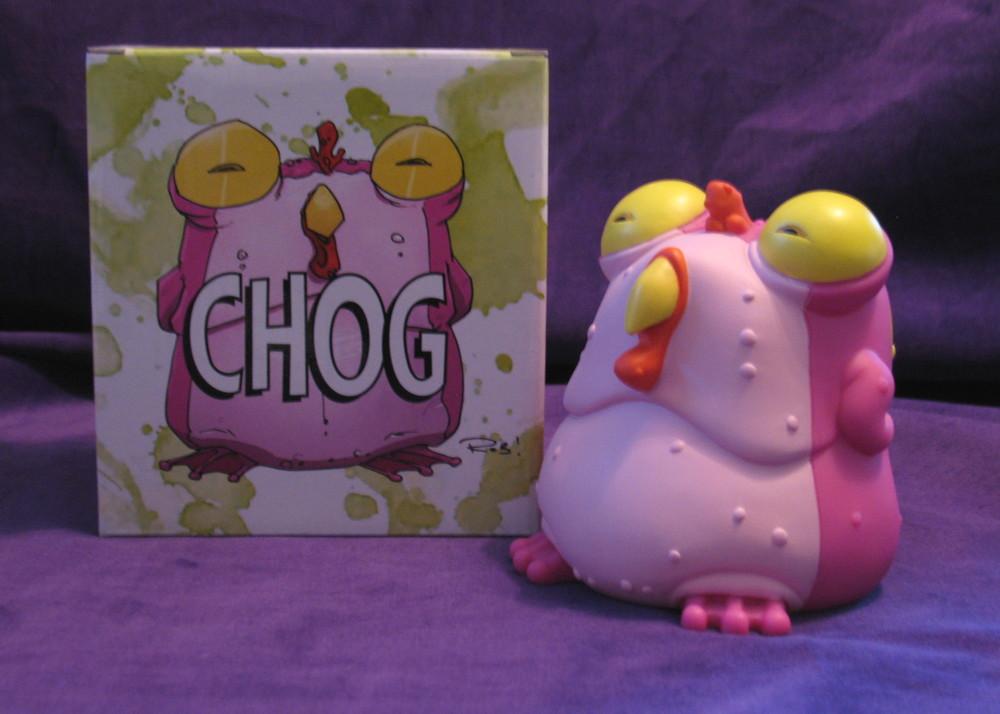 Vinyl Chog From CHEW Comic Book