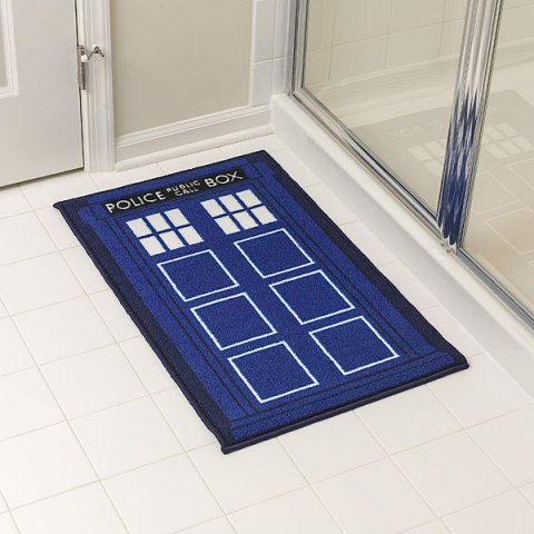 Doctor Who TARDIS Bath Mat - Geek Decor