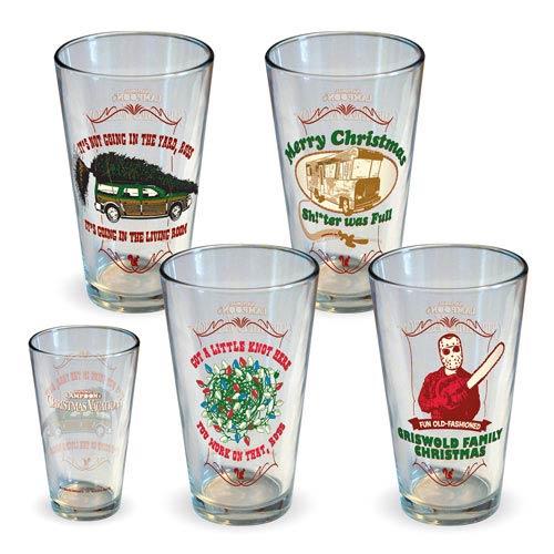 National Lampoon's Christmas Vacation Pint Glass Set - Geek Decor