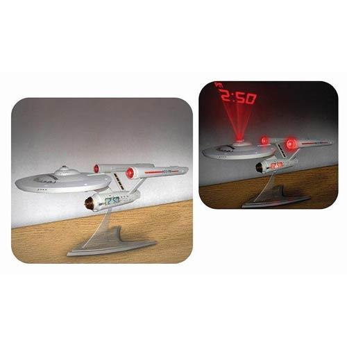 Star Trek Projection Alarm Clock