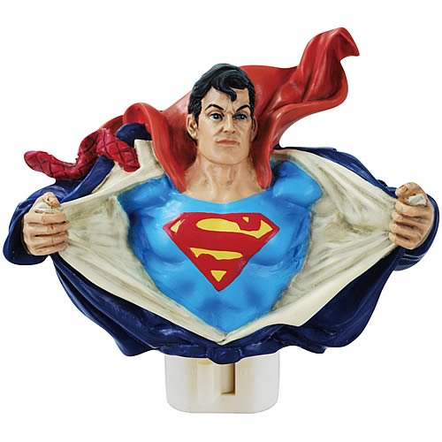 Superman Night Light - Geek Decor