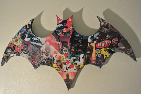 DC Batman Comics Wall Logo Plaque