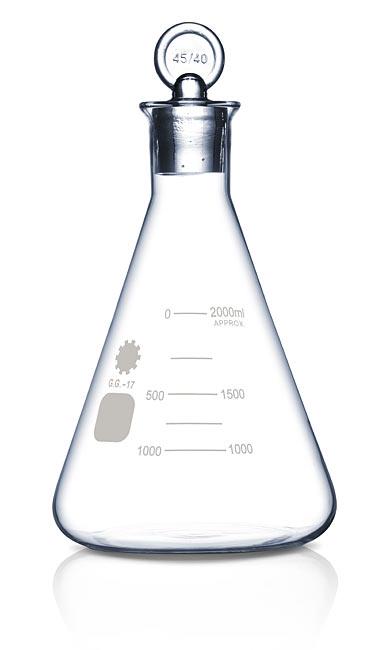 Erlenmeyer Flask Spirit Decanter - Geek Decor