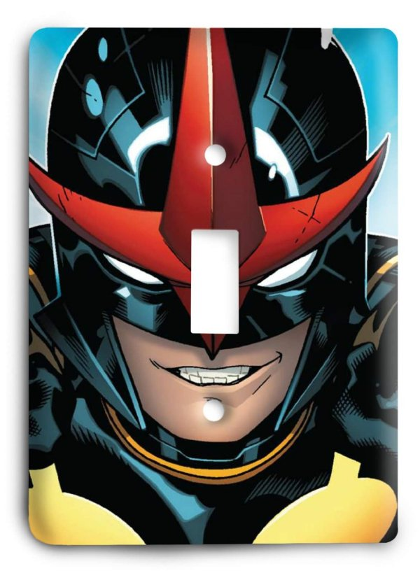 Nova Light Switch Cover - Geek Decor