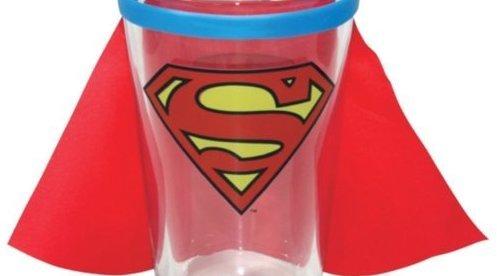Superman Caped Pint Glass - Geek Decor