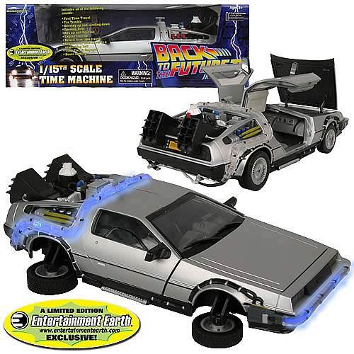 Back to the Future II DeLorean Vehicle - Geek Decor