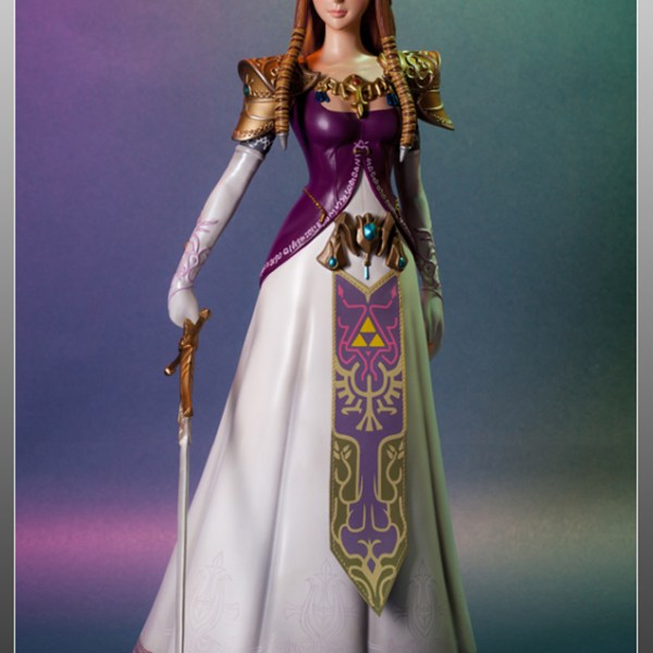 Zelda statue from the legend of zelda twilight princess for Decoration zelda