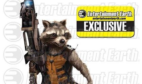 Guardians of the Galaxy Rocket Raccoon Bank - Geek Decor