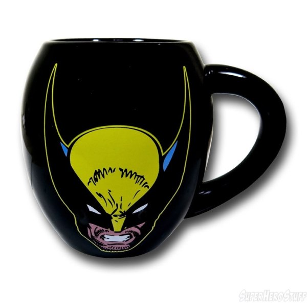 Wolverine Face Mug - Geek Decor