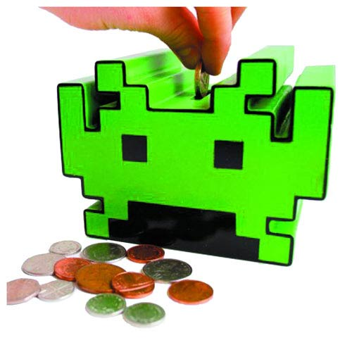 Space Invaders Electronic Bank - Geek Decor