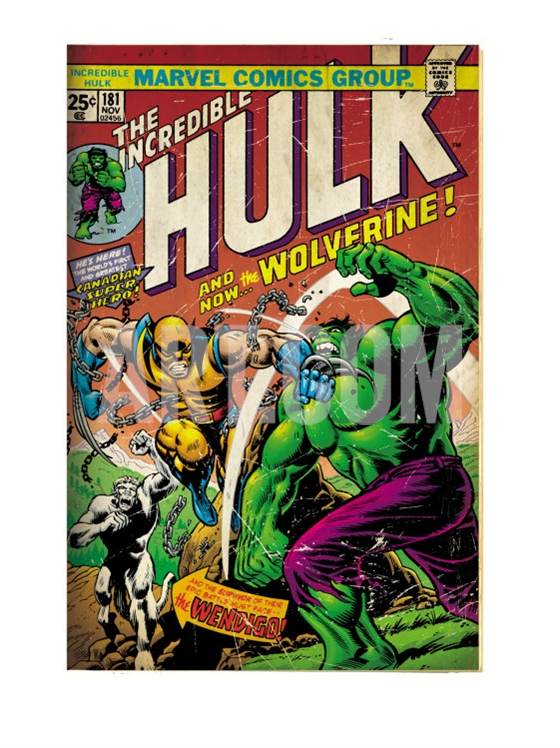 Wolverine First Appearance Art Print - Geek Decor