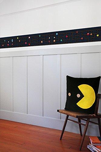 Pac-Man Wall Borders - Geek Decor