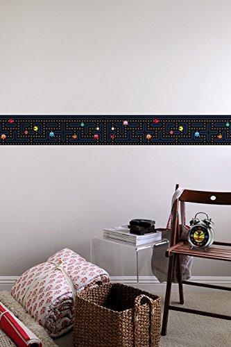 Luxury  Pac Man Wall Borders Geek Decor