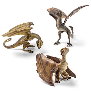 Khaleesi's Dragons – Game of Thrones Sculptures