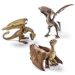 Game of Thrones Dragon Sculptures - Geek Decor