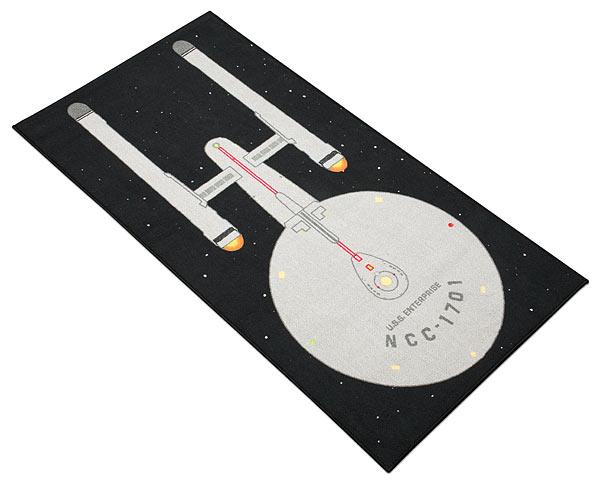 Star Trek Enterprise Rug - Geek Decor