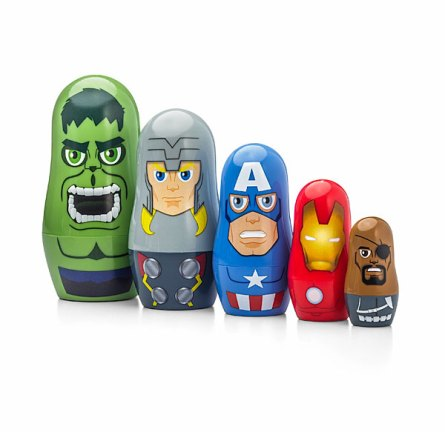 Marvel Avengers Nesting Dolls - Geek Decor