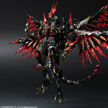 Final Fantasy Bahamut PVC Figure