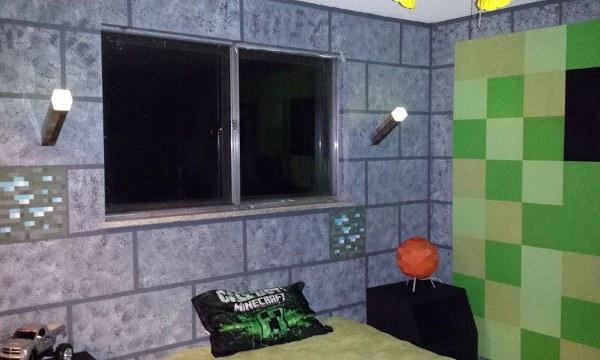 Minecraft Bedroom Window - Geek Decor