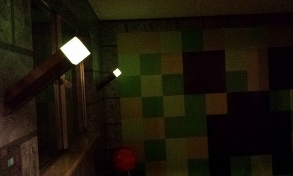 Minecraft Bedroom At Night - Geek Decor