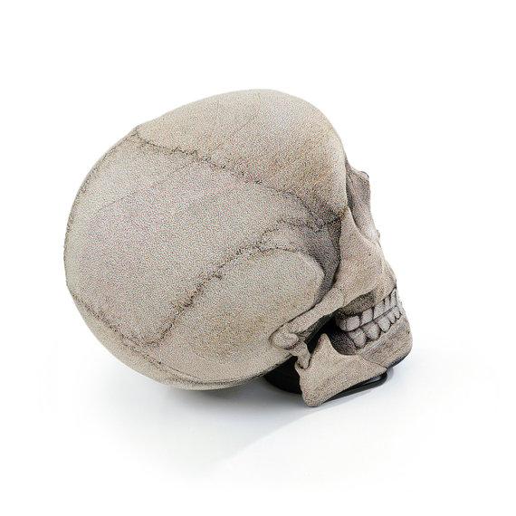 Skull Chair Back View - Geek Decor