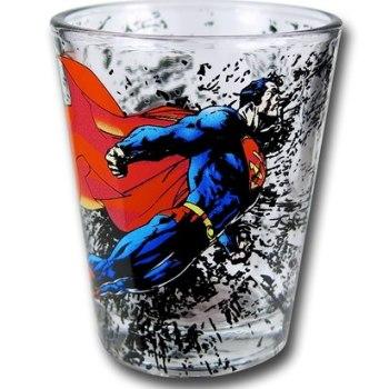 Superman Shot Glasses - Geek Decor
