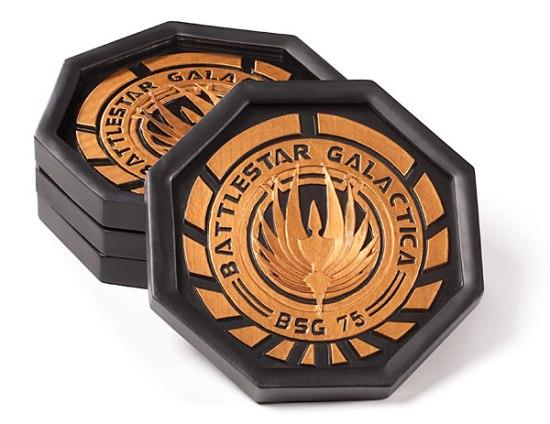 Battlestar Galactica Coaster Set - Geek Decor