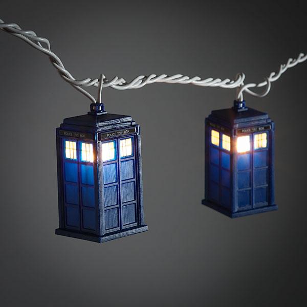 Tardis String Lights - Geek Decor