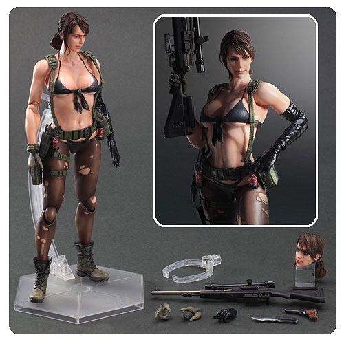 Metal Gear Solid 5 The Phantom Pain Quiet Action Figure