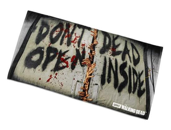 The Walking Dead Towel - Geek Decor