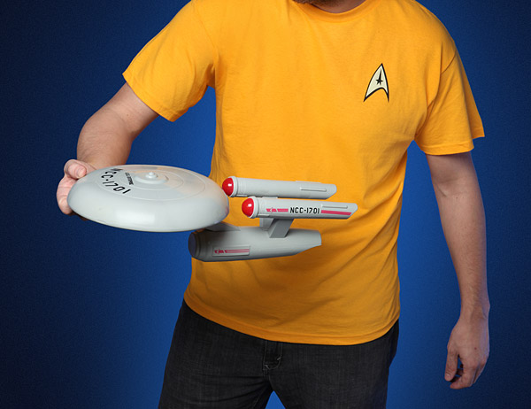 Star Trek Enterprise Flying Disc - Geek Decor